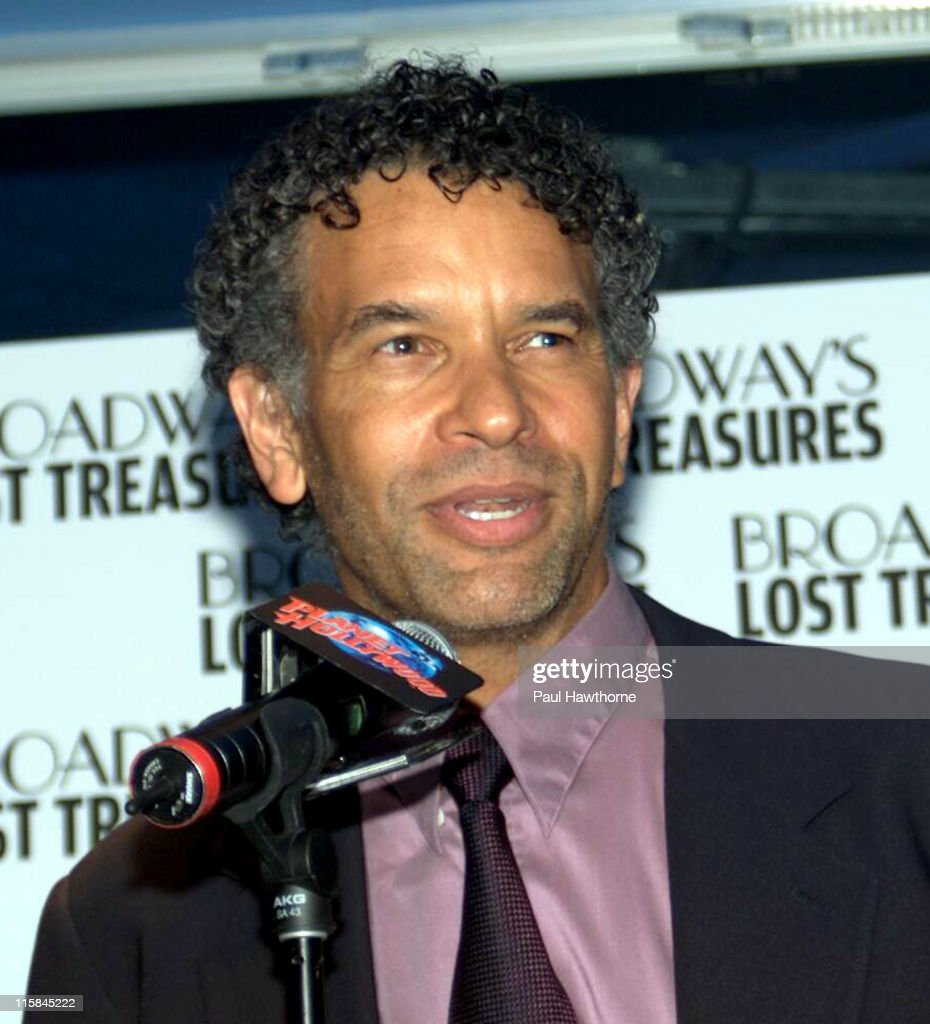 <a gi-track='captionPersonalityLinkClicked' href=/galleries/search?phrase=Brian+Stokes+Mitchell&family=editorial&specificpeople=213301 ng-click='$event.stopPropagation()'>Brian Stokes Mitchell</a> during Bebe Neuwirth and <a gi-track='captionPersonalityLinkClicked' href=/galleries/search?phrase=Brian+Stokes+Mitchell&family=editorial&specificpeople=213301 ng-click='$event.stopPropagation()'>Brian Stokes Mitchell</a> Host a Launch Party For the PBS Event 'Broadway's Lost Treasures' - New York at Planet Hollywood in New York City, New York, United States.
