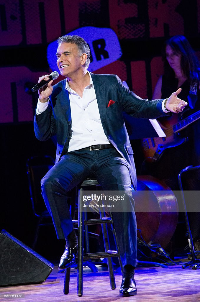 Brian Stokes Mitchell performs during Concert For America: Stand Up, Sing Out! at Town Hall on January 20, 2017 in New York City.