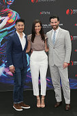 Brian Tee Torre DeVitto and Colin Donnell attend 'Chicago Med' Photocall as part of the 56th Monte Carlo Tv Festival at the Grimaldi Forum on June 14...