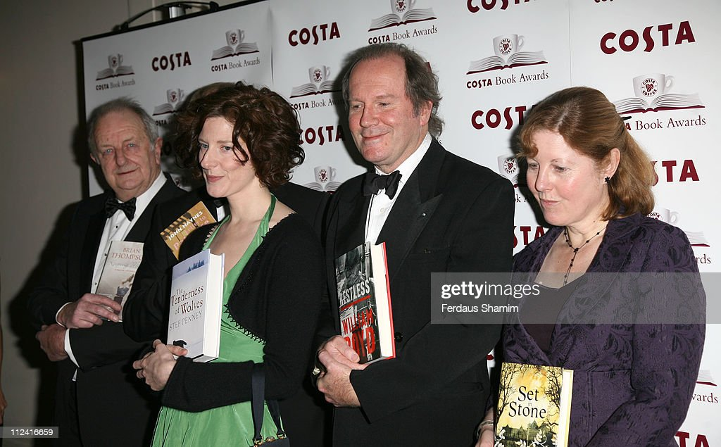 Brian Thompson Author of 'Kepping Mum', John Haynes Author of 'Letter To Patience' , Stef Penney Author of 'The Tenderness of Wolves', <a gi-track='captionPersonalityLinkClicked' href=/galleries/search?phrase=William+Boyd&family=editorial&specificpeople=94242 ng-click='$event.stopPropagation()'>William Boyd</a> Author of 'Restless' and Linda Newbery Author of 'Set In Stone'