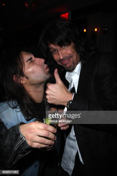 Brian Tichy and Kenny Hansen attend Foreigner Can't Slow Down Tour at Nokia Theatre on October 2 2009 in New York City