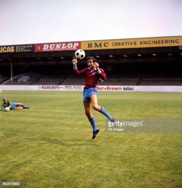 Brian Tiler of Aston Villa
