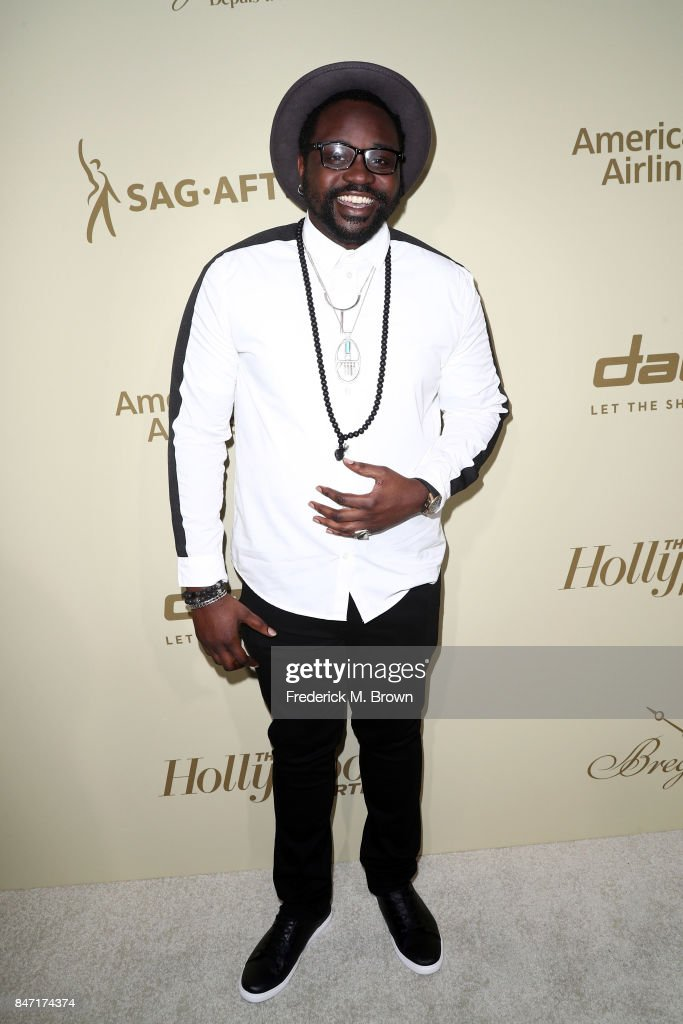 Brian Tyree Henry attends The Hollywood Reporter and SAG-AFTRA Inaugural Emmy Nominees Night presented by American Airlines, Breguet, and Dacor at the Waldorf Astoria Beverly Hills on September 14, 2017 in Beverly Hills, California.