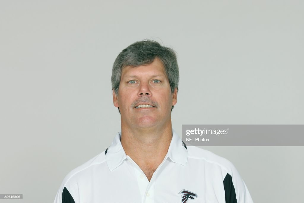 Brian VanGorder of the Atlanta Falcons poses for his 2009 NFL headshot at photo day in Atlanta, Georgia.