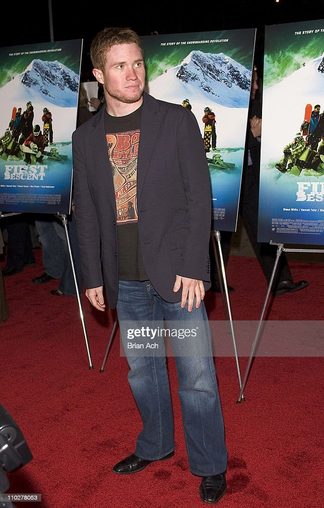 <a gi-track='captionPersonalityLinkClicked' href=/galleries/search?phrase=Brian+Vickers&family=editorial&specificpeople=171225 ng-click='$event.stopPropagation()'>Brian Vickers</a> during 'First Descent' New York City Premiere - Arrivals at Chelsea West Cinema in New York City, New York, United States.