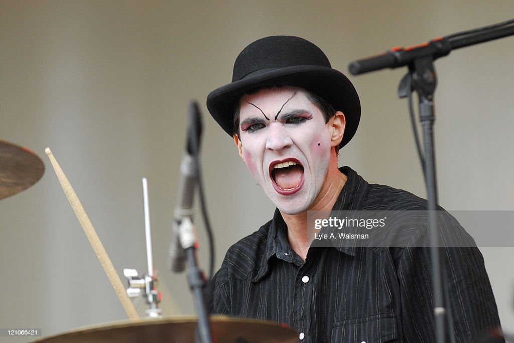 Brian Viglione of The Dresden Dolls during 2006 Lollapalooza - Day 2 at Grant Park in Chicago, Illinois, United States.