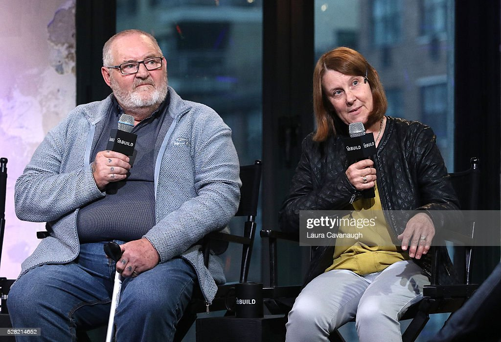 Brian Vokes and Jan Vokes attend AOL Build Speaker Series at AOL Studios In New York on May 4, 2016 in New York City.