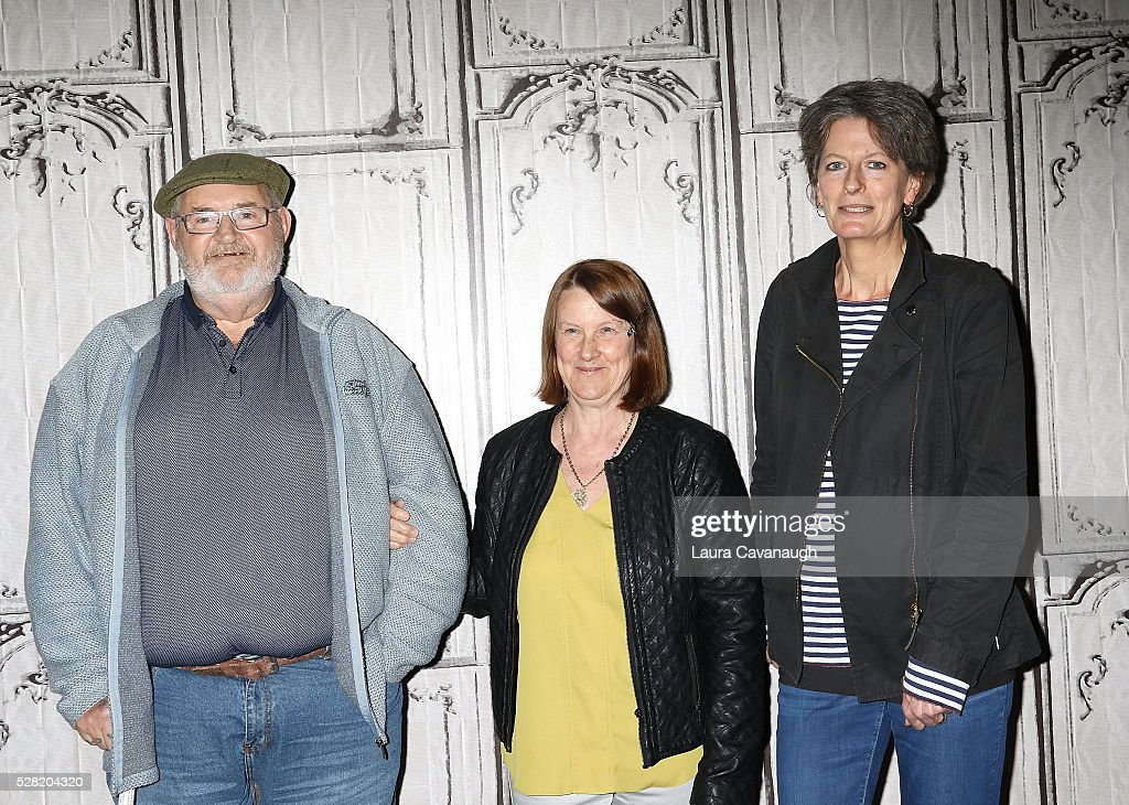 Brian Vokes, Jan Vokes and Louise Osmond attend AOL Build Speaker Series at AOL Studios In New York on May 4, 2016 in New York City.