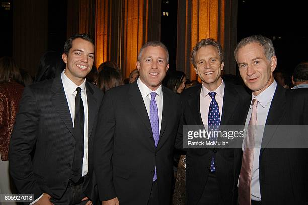 Brian Vure Bill White John Sykes and John McEnroe attend VANITY FAIR Tribeca Film Festival Party hosted by Graydon Carter and Robert DeNiro at The...