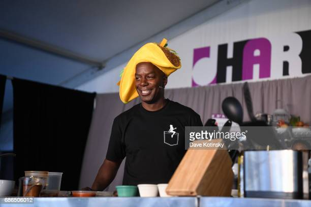 Brian Washington Palmer Sexy Taco performs onstage at Harlem EatUp's Third Annual Festival Weekend on May 21 2017 in New York City