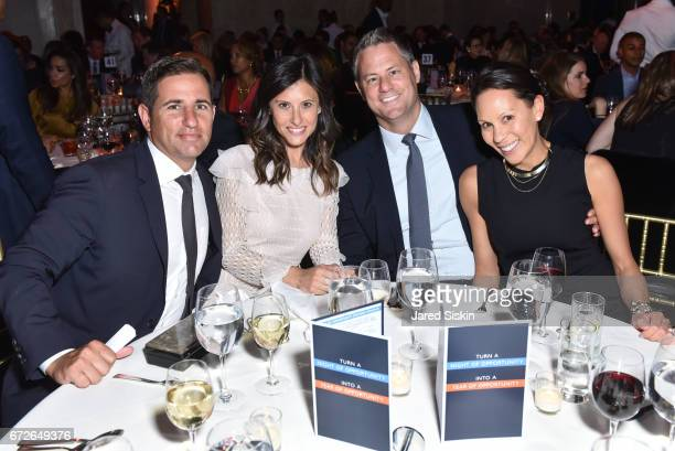 Brian Weinstein Nora Weinstein and guests attend The Opportunity Network's 10th Annual Night of Opportunity Gala at Cipriani Wall Street on April 24...