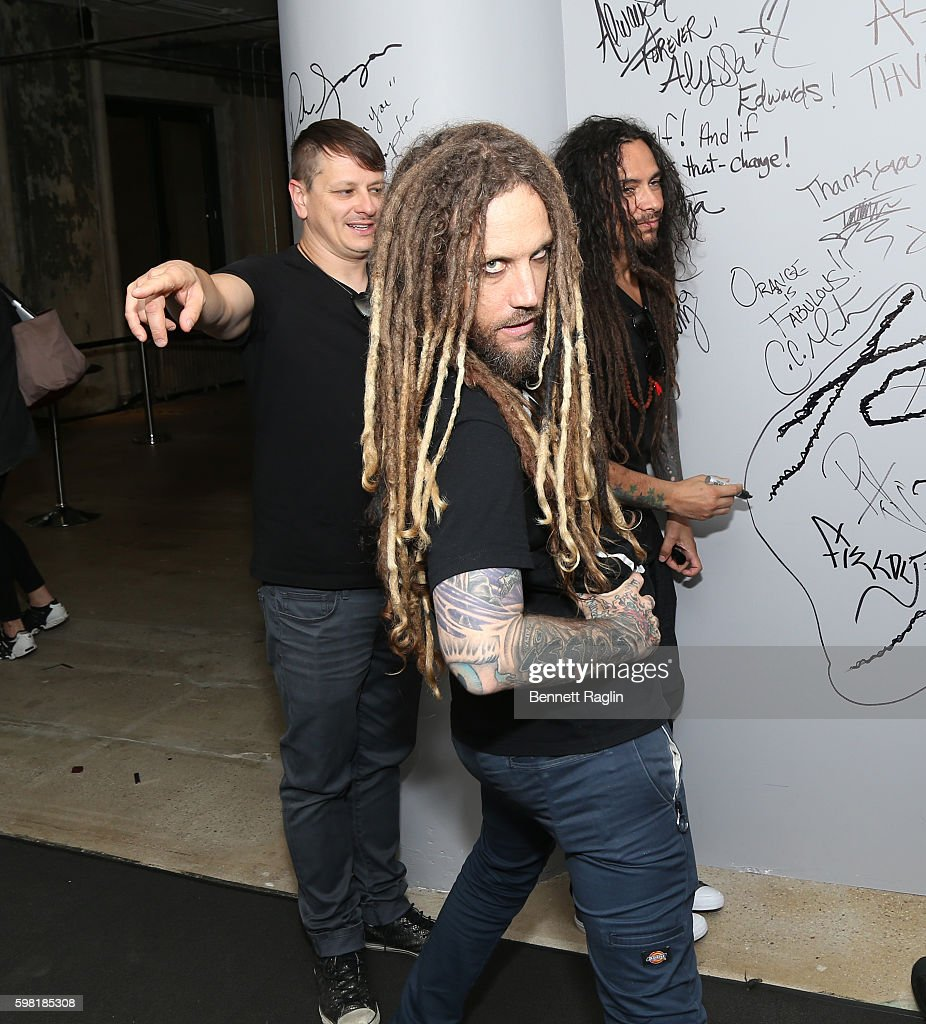 Brian Welch of Korn attends the BUILD Series presents Korn discusses 'The Serenity of Suffering' at AOL HQ on August 31, 2016 in New York City.