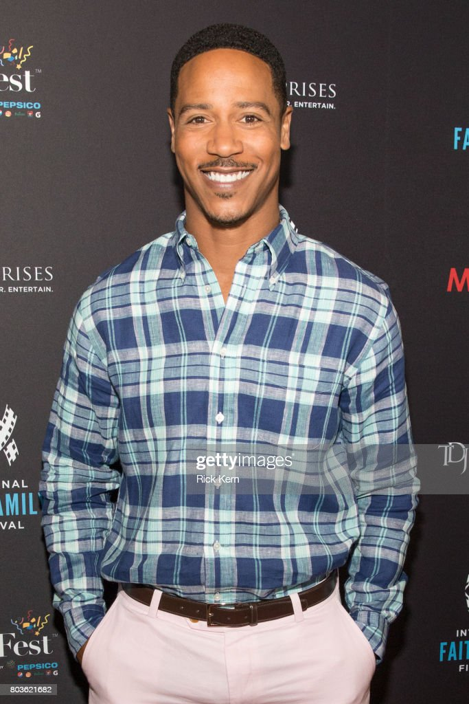 Brian White poses before the MegaFest Leading Men In Hollywood Panel at the Omni Hotel on June 29, 2017 in Dallas, Texas.