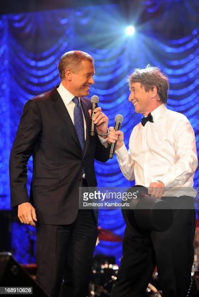 Brian Williams and Martin Short entertain attendees at the 2013 Toys'R'Us Children''s Fund Gala on Thursday May 16 in New York City One of the...