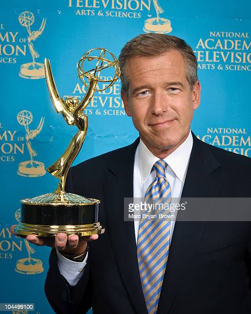 Brian Williams attends the 31st annual News Documentary Emmy Awards at Frederick P Rose Hall Jazz at Lincoln Center on September 27 2010 in New York...
