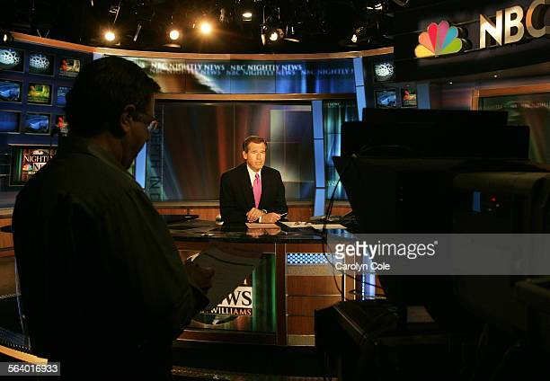 NEW YORK – Brian Williams marks his first anniversary in the anchor chair at NBC Nightly News after taking over for Tom Brokaw last December