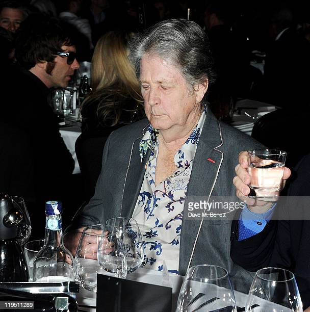 Brian Wilson arrives at the Glenfiddich Mojo Honours List 2011 awards ceremony at The Brewery on July 21 2011 in London England