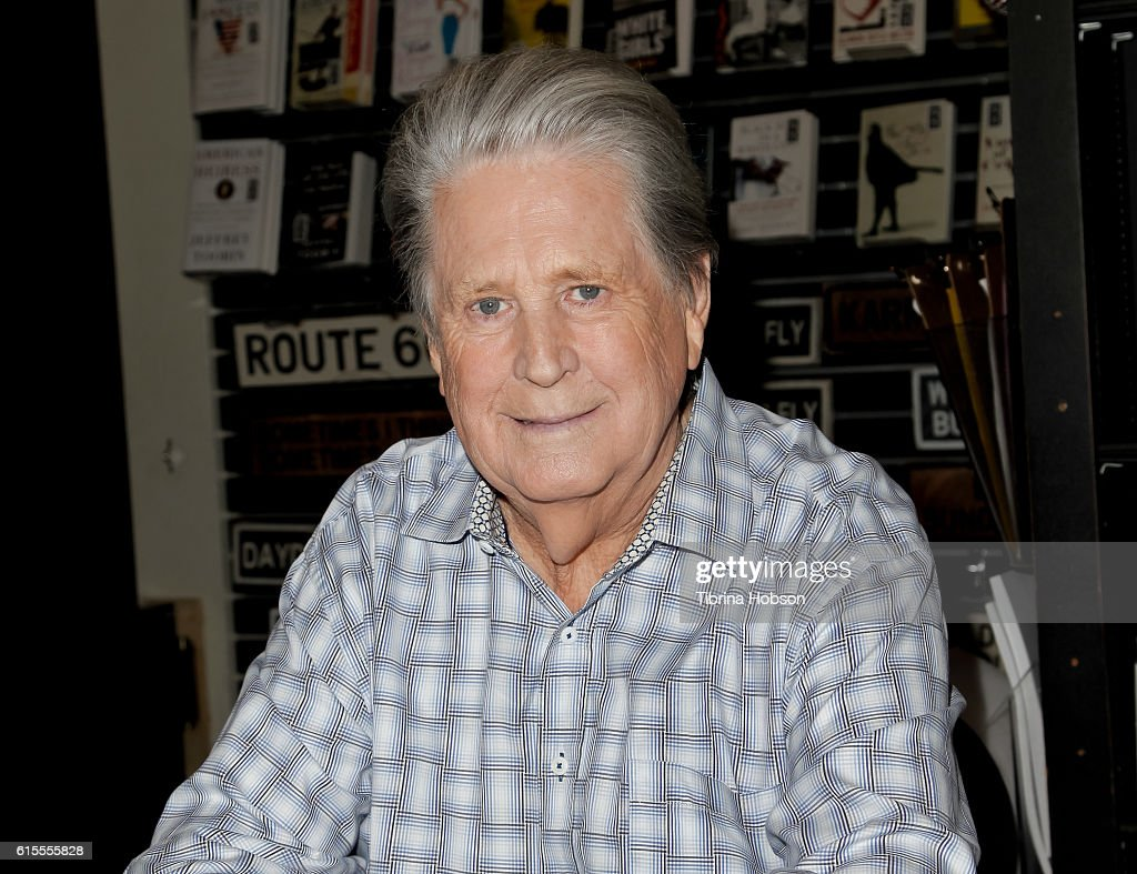 Brian Wilson attends his book signing for 'I Am Brian Wilson' at Book Soup on October 18, 2016 in West Hollywood, California.