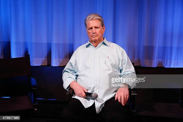 Brian Wilson attends Official Academy Screening of 'Love Mercy' hosted by The Academy of Motion Picture Arts and Sciences at The Academy Theatre at...