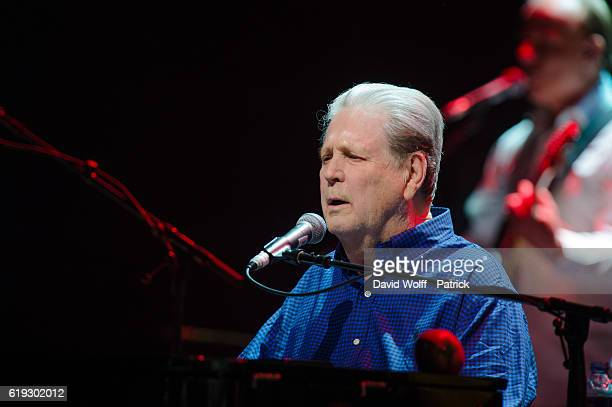 Brian Wilson performs at Salle Pleyel on October 30 2016 in Paris France