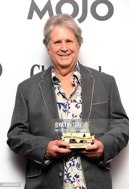 Brian Wilson wins the Hall Of Fame Award at the Mojo Awards ceremony in London