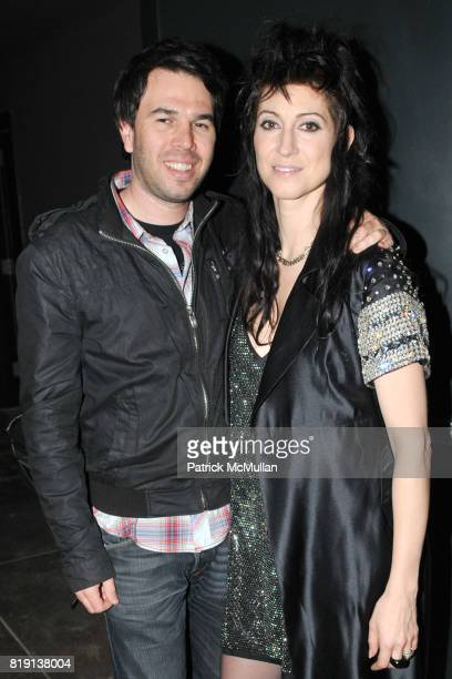 Brian Young and Floria Sigismondi attend THE RUNAWAYS A Gallery Event with FLORIA SIGISMONDI to Benefit STAND UP FOR KIDS at Good Units on March 16...