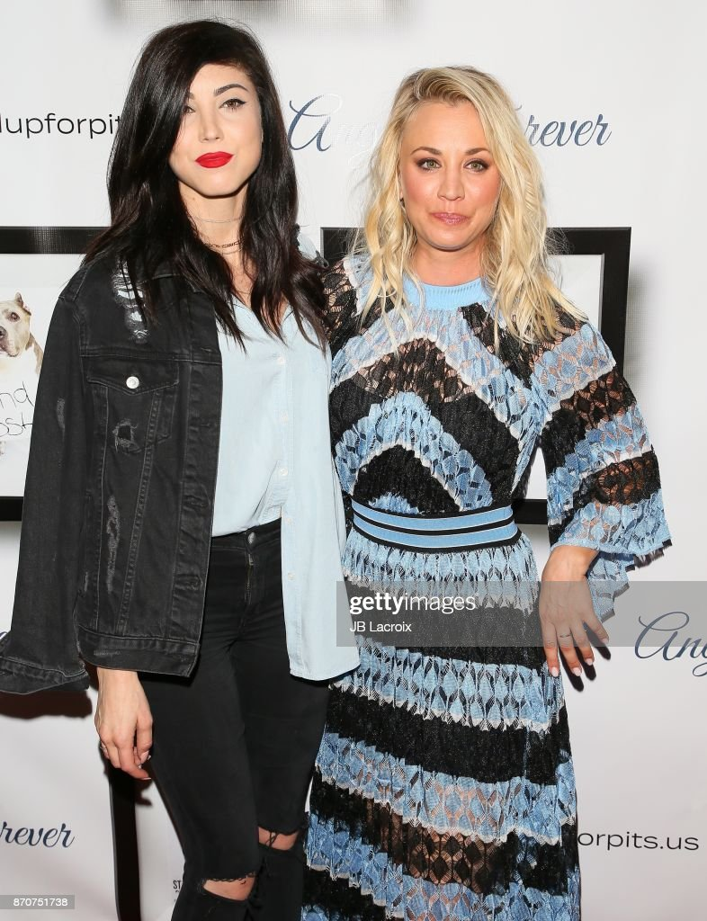 Briana Cuoco and Kaley Cuoco attend the 7th Annual Stand Up For Pits on November 5, 2017 in Los Angeles, California.