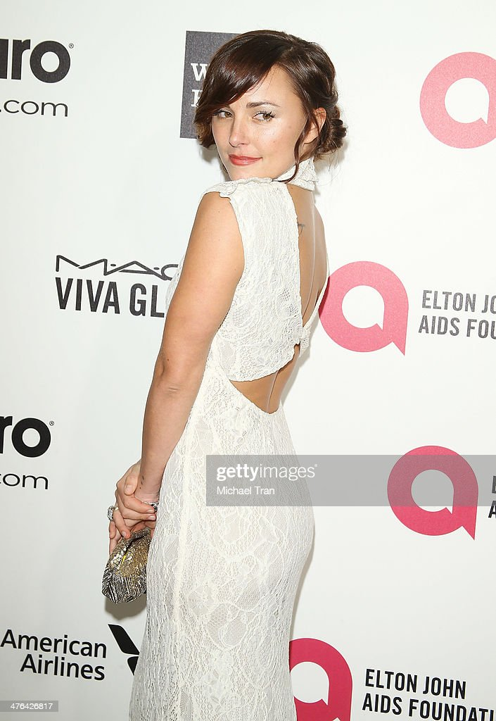 <a gi-track='captionPersonalityLinkClicked' href=/galleries/search?phrase=Briana+Evigan&family=editorial&specificpeople=2484919 ng-click='$event.stopPropagation()'>Briana Evigan</a> arrives at the 22nd Annual Elton John AIDS Foundation's Oscar viewing party held on March 2, 2014 in West Hollywood, California.
