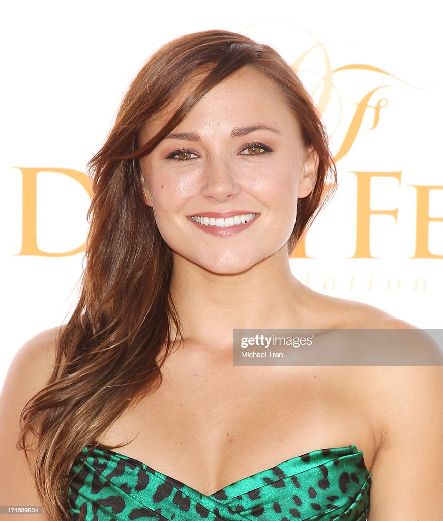 Briana Evigan arrives at the Dizzy Feet Foundation's 3rd Annual Celebration of Dance Gala held at Dorothy Chandler Pavilion on July 27, 2013 in Los Angeles, California.