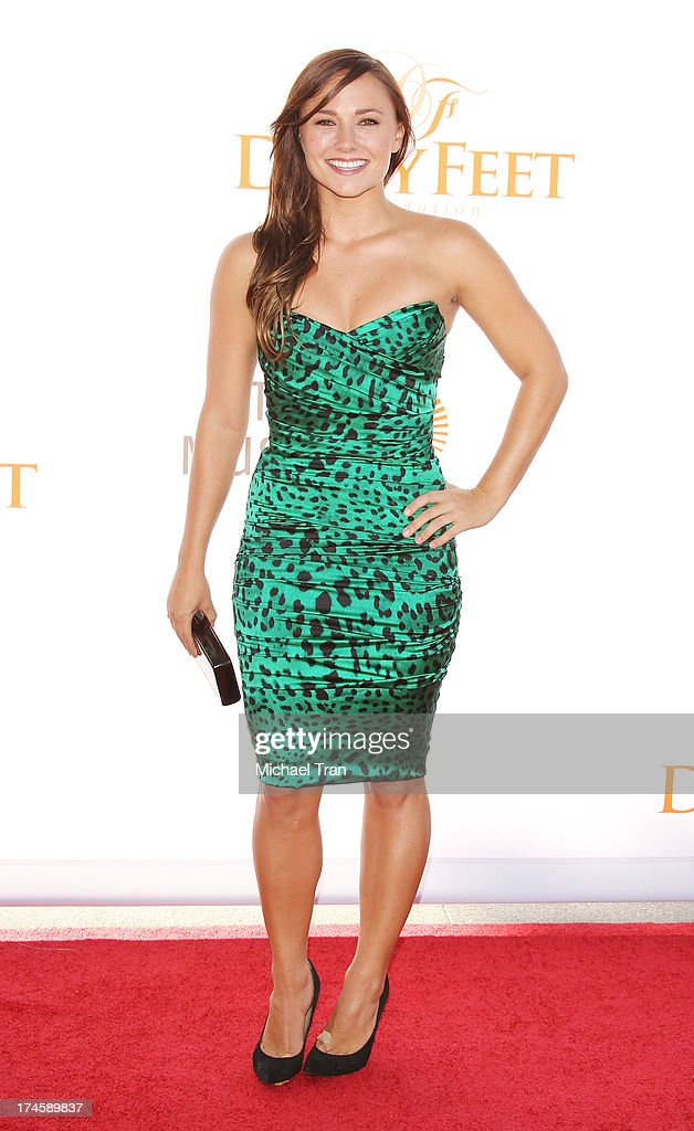 <a gi-track='captionPersonalityLinkClicked' href=/galleries/search?phrase=Briana+Evigan&family=editorial&specificpeople=2484919 ng-click='$event.stopPropagation()'>Briana Evigan</a> arrives at the Dizzy Feet Foundation's 3rd Annual Celebration of Dance Gala held at Dorothy Chandler Pavilion on July 27, 2013 in Los Angeles, California.