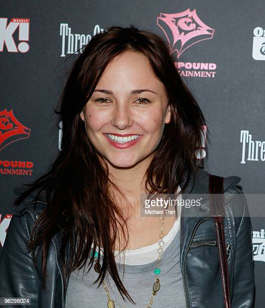 Briana Evigan arrives to the 3rd Annual Midnight Grammy Brunch held at W Hollywood on January 30 2010 in Hollywood California