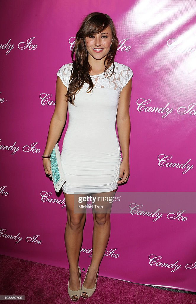 <a gi-track='captionPersonalityLinkClicked' href=/galleries/search?phrase=Briana+Evigan&family=editorial&specificpeople=2484919 ng-click='$event.stopPropagation()'>Briana Evigan</a> arrives to the 'Candy Ice' jewelry launch event held at MyStudio Nightclub on August 13, 2010 in Los Angeles, California.