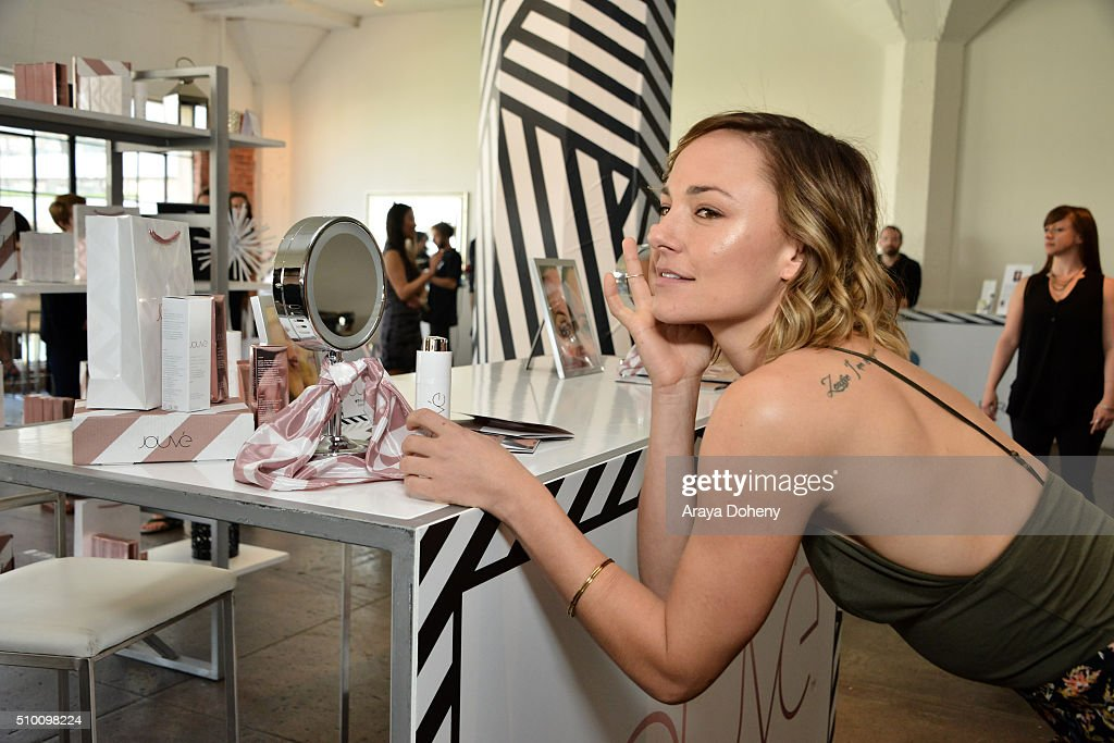 <a gi-track='captionPersonalityLinkClicked' href=/galleries/search?phrase=Briana+Evigan&family=editorial&specificpeople=2484919 ng-click='$event.stopPropagation()'>Briana Evigan</a> attends the Colgate Optic White Beauty Bar Ð Day 1 at Hudson Loft on February 13, 2016 in Los Angeles, California.