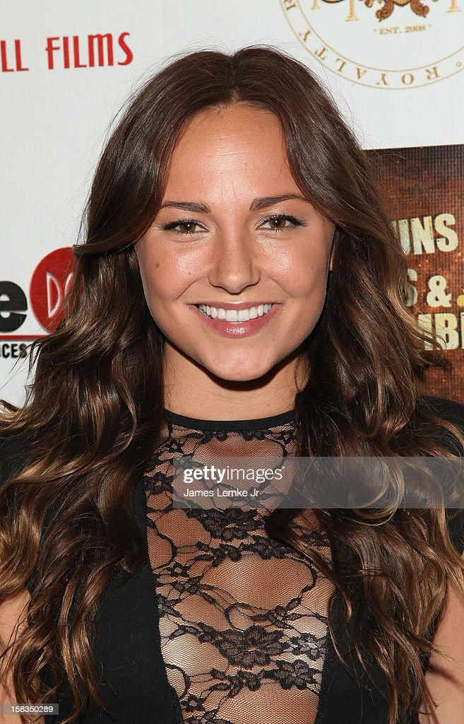 Briana Evigan attends the Los Angeles Screening 'Guns, Girls & Gambling' held at the Laemlle NoHo 7 on December 13, 2012 in North Hollywood, California.