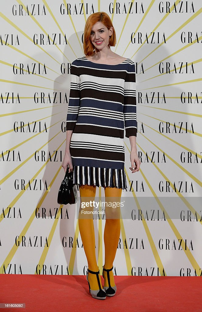 Brianda Fitz James Stuart attends Grazia Magazine launch party at the Circo Prize Theater on February 12, 2013 in Madrid, Spain.