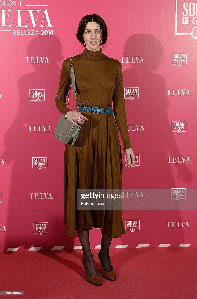 Brianda Fitz James Stuart attends 'T de Telva' beauty awards 2014 at the Palace Hotel on January 30, 2014 in Madrid, Spain.
