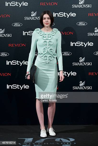Brianda Fitz James Stuart attends the In Style Magazine 10th Anniversary party at the Melia Fenix Hotel on October 21 2014 in Madrid Spain