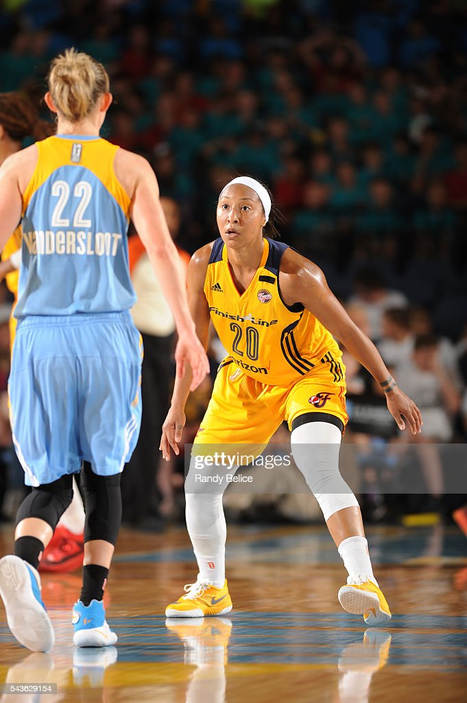 <a gi-track='captionPersonalityLinkClicked' href=/galleries/search?phrase=Briann+January&family=editorial&specificpeople=4530291 ng-click='$event.stopPropagation()'>Briann January</a> #20 of the Indiana Fever fights for position against the Chicago Sky on June 29, 2016 at Allstate Arena in Rosemont, IL.