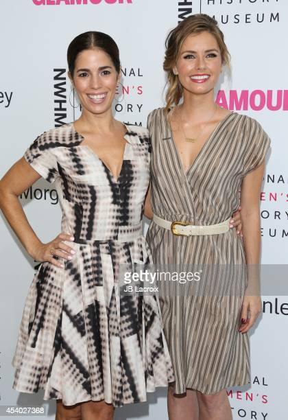 Brianna Brown and Ana Ortiz attend the 3rd Annual Women Making History Brunch presented by the National Women's History Museum and Glamour Magazine...
