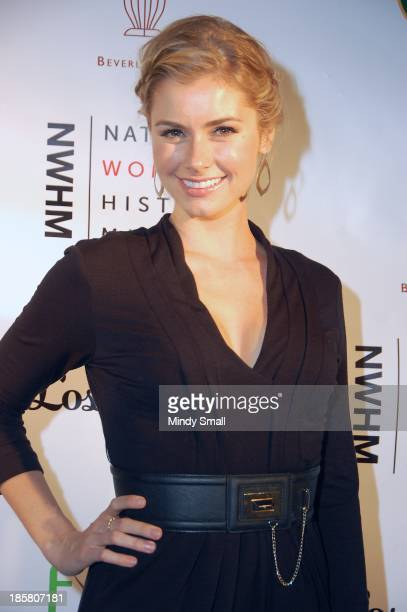 Brianna Brown attends the National Women's History Museum 2nd Annual Women Making History Event at Mr C Beverly Hills on October 24 2013 in Beverly...