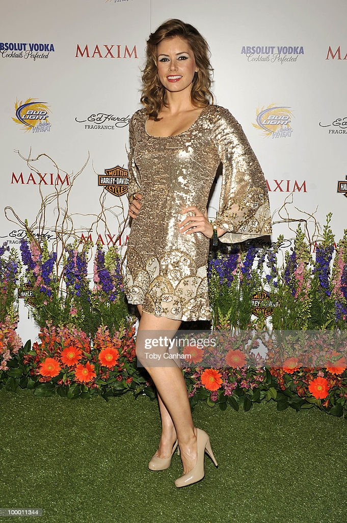Brianna Brown poses for a picture at the 11th Annual Maxim Hot 100 Party on May 19, 2010 in Los Angeles, California.