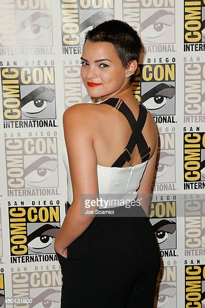Brianna Hildebrand attends the 20'th Century Fox Press Line at ComicCon International 2015 Day 3 on July 11 2015 in San Diego California