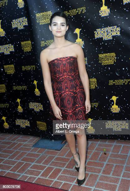 Brianna Hildebrand attends the 43rd Annual Saturn Awards at The Castaway on June 28 2017 in Burbank California