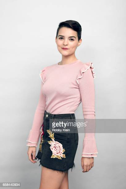 Brianna Hildebrand of 'Tragedy Girls' poses for a portrait at The Wrap and Getty Images SxSW Portrait Studio on March 12 2017 in Austin Texas