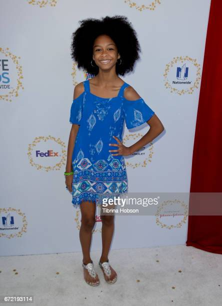 Brianna Reed attends the Safe Kids Day at Smashbox Studios on April 23 2017 in Culver City California