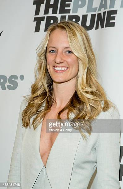 Brianne MacLaughlin attends The Players' Tribune Launch Event at Canoe Studios on February 14 2015 in New York City