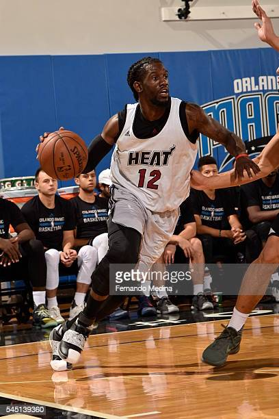 Briante Weber of Miami Heat handles the ball against the Magic Blue during Summer League at the Amway Center on July 5 2016 in Orlando Florida NOTE...
