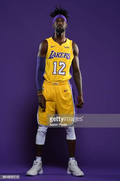 Briante Weber of the Los Angeles Lakers poses for a portrait during media day at UCLA Health Training Center on September 25 2017 in El Segundo...