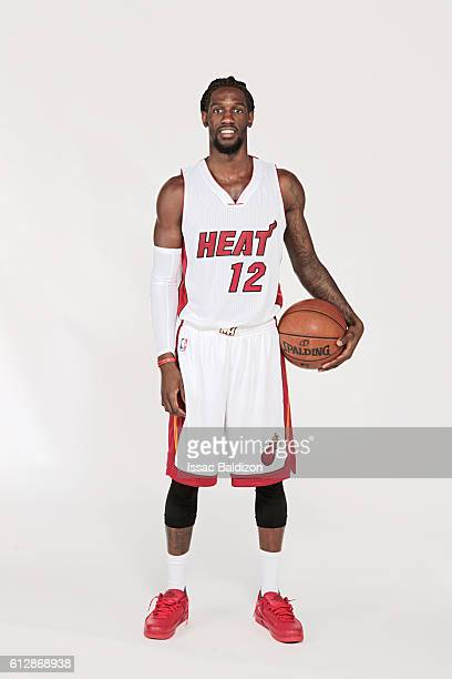 Briante Weber of the Miami Heat poses for a portrait during the 20162017 Miami Heat Media Day on September 26 2016 at FedExForum in Memphis Tennessee...