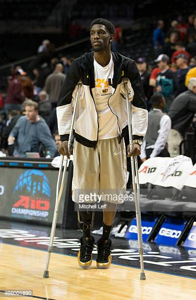 Briante Weber of the Virginia Commonwealth Rams makes his way to off the court during after the first half of the game against the Fordham Rams in...